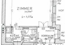 U3 Kardinal Naglplatz - 1 Zimmer