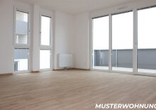 Helle 3-Zimmer Balkonwohnung im Zentrum, Innenhoflage
