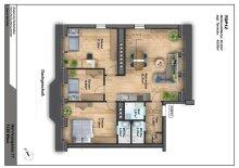 Hoch hinaus in Wien Meidling – Exklusive Dachterrasse-Traum, 4 Zimmer, WNF 96 m² + Terrasse: ca. 45 m²