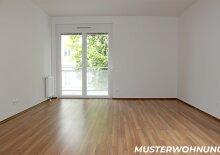 Zentrale 3-Zimmer Wohnung mit großem Balkon, Innenhoflage