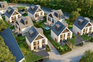 Einfamilienhaussiedlung Baugenehmigt