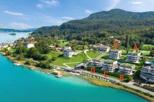 Exclusive Wohnung mit Badeplatz und SPA direkt am Wörthersee
