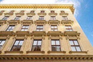EIGENHEIM mit 4-Zimmern- Altbau-Wohnung - ERSTBEZUG nach kompletten Kernsanierung! Prestigereiches Wohnen mit Flair im Zentrum Wiens - Nähe RUDOLFSPLATZ!