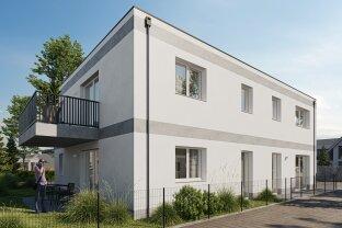 Neubau-3-Zimmer-Wohnung mit großen Balkon und PKW-Stellplatz