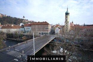 Grieskai 157m2 5 Zimmer 2 Bäder | direkt an der Erherzog-Johann-Brücke | Blick auf den Uhrturm (11)