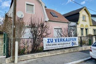 Baugrundstück - Bauklasse W I g 7,5 m für Ein- oder Mehrfamilienhaus - aktuell mit Bestandshaus