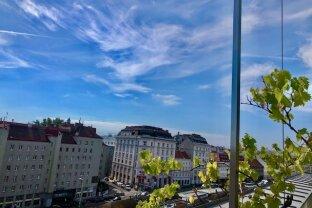 MIETWOHNUNG - INNENSTÄDTISCHE & EXQUISITE- PENTHOUSE-Wohnung mit 2,5-Zimmern in Top Lage - NASCHMARKT - 1060 WIEN!