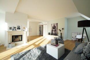 Erstbezug: Luxus - Dachgeschoss - Maisonette mit 2 Terrassen, 2 Balkonen und Tiefgarage in Gersthofer Traumlage!