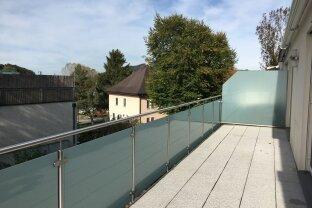 Familiengeeignete 4 Zi. Dachgeschosswohnung - großer Sonnenterrasse - Salzburg Kasern