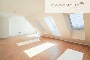 ERSTBEZUG! Einzigartige Dachgeschoss Maisonette mit traumhaftem 360² Ausblick und 60m² Dachterrasse inkl. Garagenstellplatz!