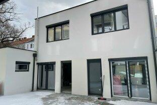 Modernes Büro/Praxis, Neubau, Erstbezug, 3 Terrassen, Doppelhaushälfte, gute Infrastruktur, sehr ruhig