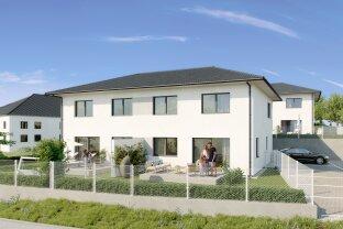 Wohnen in Oberrohrbach - bei Korneuburg - HYGGE BAU Haus - 125m2 - Doppelhaus TOP 6 zum Kauf