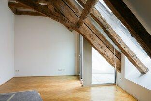 3-Zimmer-Dachgeschoßwohnung mit Terrasse in bester Innenstadtlage