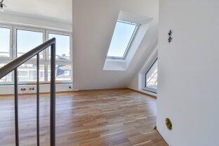 Moderne DG-Maisonette mit Blick über Wien! Inkl. Klimaanlage! - Belagsfertig!
