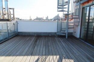 Dachgeschoß-Maisonette mit 2 Terrassen