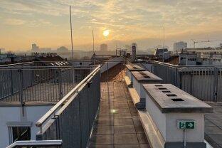 Dachgeschosswohnung inkl. großzügiger Terrasse mit Wienblick in zentraler Lage, Erstbezug, moderne Ausstattung, Top 42
