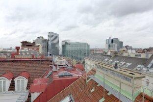 Exklusive 4 Zimmerwohnung in repräsentativem Stilaltbau - große Terrasse mit 360° Blick - Nähe Tuchlauben/Hoher Markt