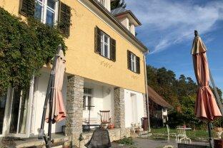 Ideal für Selbstversorger! Villa mit sehr großem Garten und eigener Quelle!