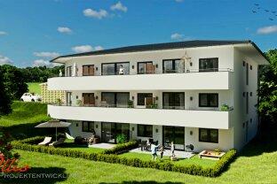 Neubauprojekt - Exklusive Gartenwohnung mit Fernblick