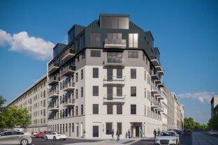 Erstbezug  - 2 Zimmer - moderne Wohnung mit tollem Balkon (TOP 57- 1. DG)