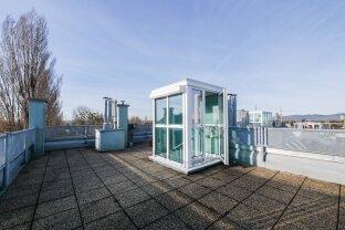 Tolle Dachgeschoßmaisonette mit schöner Terrasse und Garagenplatz nahe Alter Donau
