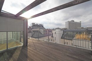 "BARMHERZIGENGASSE  | 3-Zimmer-Dachgeschoß-Maisonette mit Terrasse | U3 ""Kardinal Nagl Platz"""