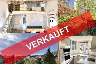 VERKAUFT!!! Traumhafte Galerie-Dachterrassenwohnung mit toller Aussicht