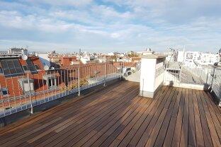 97m² Dachterrassenwohnung im Stilaltbau - Nähe Belvedere