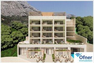 Nähe Split: attraktives Beach Boutique Hotel direkt am Meer in Medici/Brela