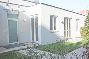 Bürowidmung - 3-Zimmerwohnung mit zwei Terrassen und Garten
