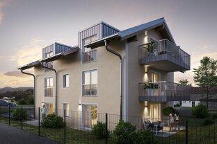 Traumlage im Salzburger Seengebiet - 2-Zimmer-Wohnung mit Garten und Außenstellplatz