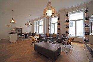 SINGERSTRASSE | komplett möblierte 4-Zimmer-Altbauwohnung Nähe Stephansplatz