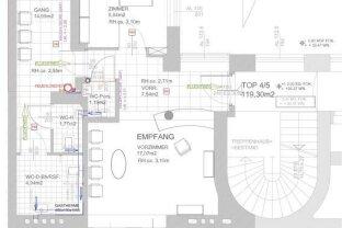 Erstbezug nach Sanierung - Zentrumsnahes Büro - gute Anbindung - praktische Aufteilung - Stilaltbau