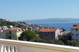 Interessantes Appartementhaus in Kroatien mit wunderbarem Meerblick
