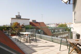 Möblierte Dachterrassenwohnung in TOP LAGE !