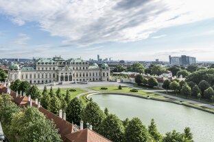 Sensationeller Luxus-Dachgeschoß-Traum der Superlative mit atemberaubendem Ausblick!!! Schoss Belvedere - absolutes Unikat! - ERSTBEZUG!