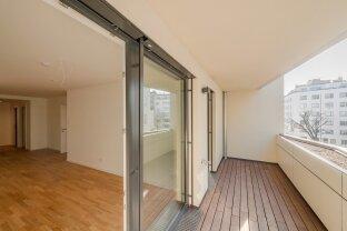 Exklusive 2 Zimmerwohnung mit luxuriöser Ausstattung und Loggia! - ab sofort im PROJEKT LEOPOLD!