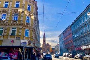 GESCHÄFTSLOKAL mit Potenzial & Straßenseitigen-Auslagenfenster - Bestlage - MÄRZSTRAßE!