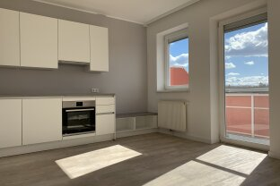 Neu sanierte 2 Zimmer Wohnung mit Balkon | 1. Stock | Fernblick | Einbauküche