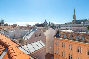 Traumhafte DG-Wohnung mit Blick auf den Stephandsdom, Terrasse & Klimaanlage!