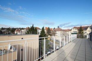 Dachgeschoßmaisonette mit 3-4 Schlafzimmern und großen Terrassen