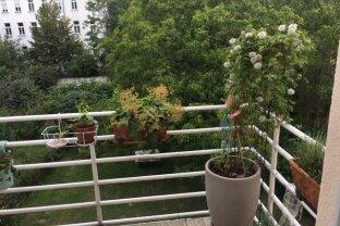 Balkonwohnung mit Gartenbenutzung
