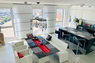 Luxus Penthouse Maisonette mit 2 Rooftop Terrassen - traumhafter Ausblick - Wienerberg City