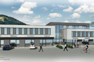 New construction project in preparation: BUSINESS OFFICE - PRACTICE ROOMS - in Kaprun for rent