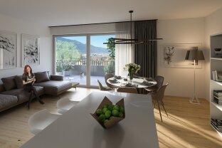 Wohnen in der Vorstadt - Gartenwohnung mit Sonnenterrasse in ruhiger Lage
