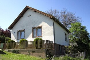 """günstiges, sanierungsbedürftiges Einfamilienhaus in Aussichtslage in Hammerteich """"RESERVIERT"""""""