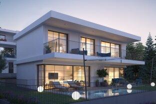 Moderne Neubauvilla mit Garten, Terrassen und Pool