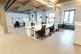 1050 m² Loft Büro mit flexibler Raumgestaltung - Nähe Rennweg