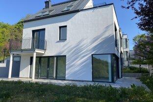 ERSTBEZUG - Architektenhaus mit Garten und Grünblick inkl. 2 PKW-Stellplätze - Gießhübl