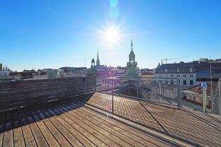 MARC AUREL STRASSE | exklusive 4-Zimmer-DG-Wohnung mit Dachterrasse beim Hohen Markt